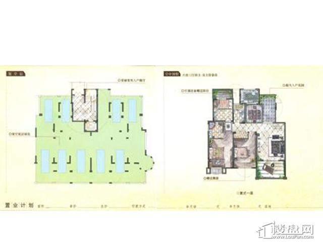 凡尔赛庄园柏翠庄电梯洋房6室3厅4卫 183.00㎡