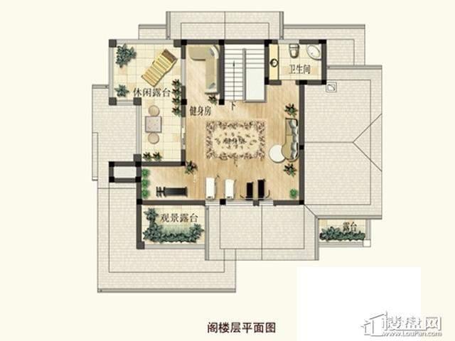 弘阳三万顷 5室 户型图5室4厅3卫1厨 400.00㎡
