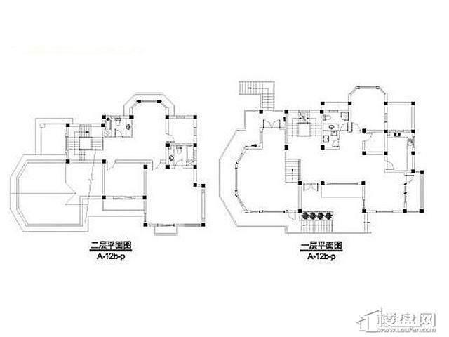 弘阳三万顷A-12b-p户型(2012.11)4室3厅6卫 396.90㎡