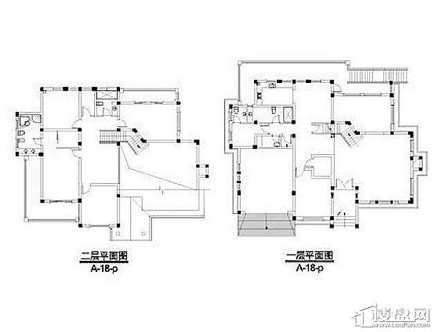 弘阳三万顷A-18-p户型(2012.11)4室4厅5卫 583.20㎡