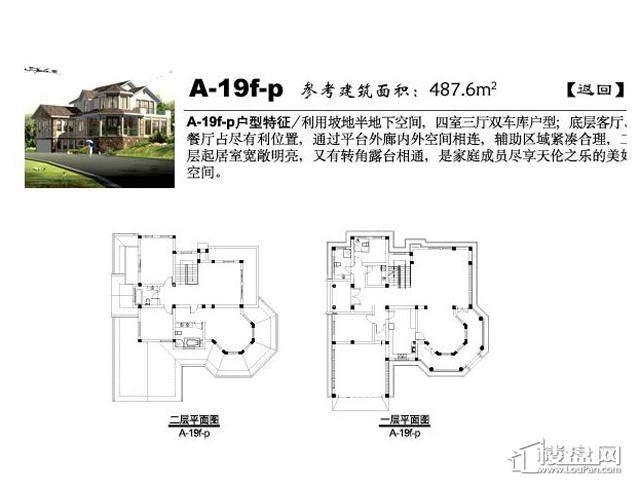 弘阳三万顷A-19f-p4室3厅5卫 487.60㎡