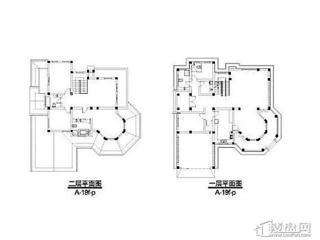 弘阳三万顷A-19f-p户型(2012.11)4室3厅5卫 487.60㎡