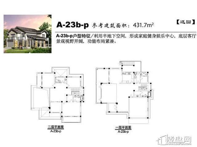 弘阳三万顷A-23b-p5室4厅7卫 431.70㎡