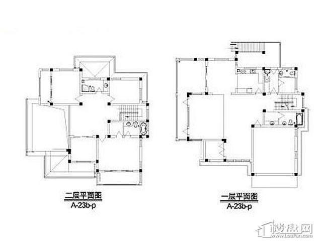 弘阳三万顷A-23b-p户型(2012.11)5室4厅7卫 431.70㎡