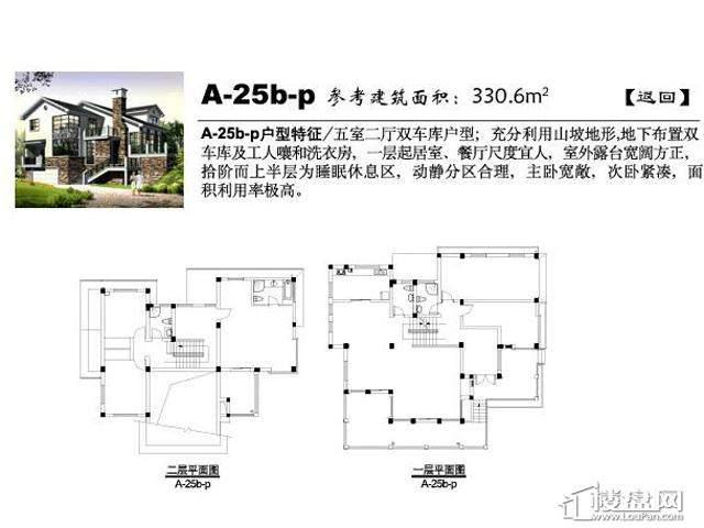 弘阳三万顷A-25b-p4室3厅5卫 330.60㎡