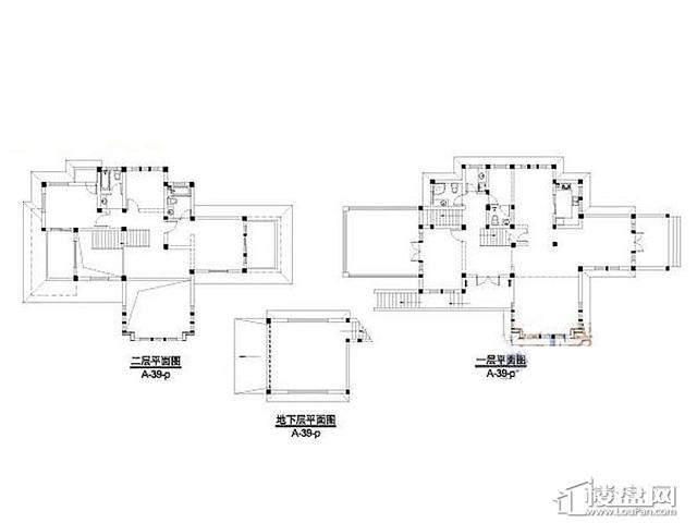 弘阳三万顷A-39-p户型(2012。11)4室3厅5卫 297.70㎡
