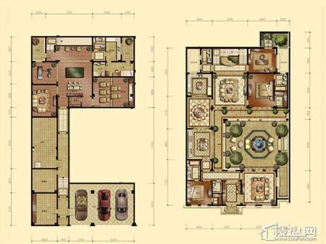 蠡湖香樟园B1-24室4厅4卫 720.30㎡
