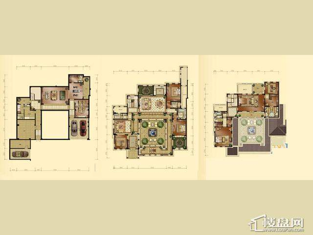 蠡湖香樟园D3-24室4厅4卫 742.30㎡