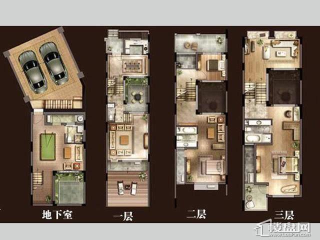 太湖国际社区二十二世家户型图 249.30㎡