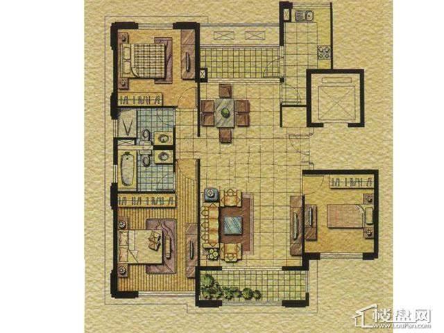 太湖锦园B33室2厅2卫