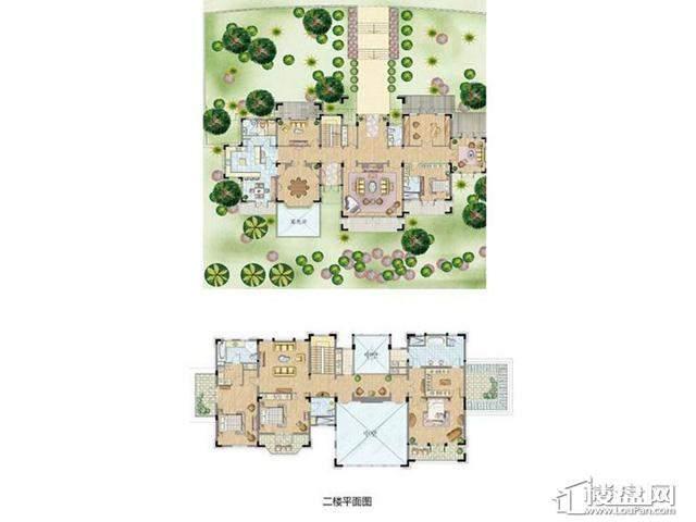 太湖锦园别墅A户型4室3厅4卫1厨 512.00㎡
