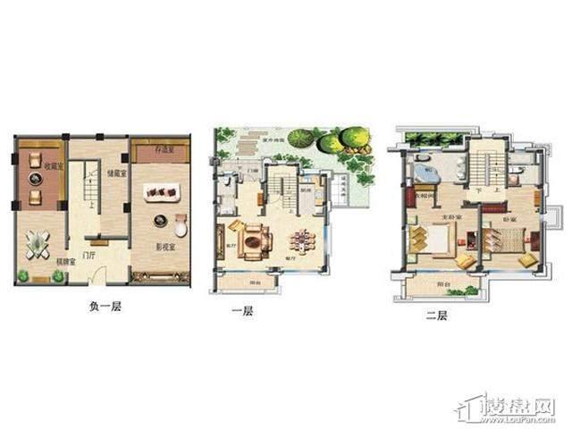 41栋G95户型图4室4厅4卫1厨 320.00㎡