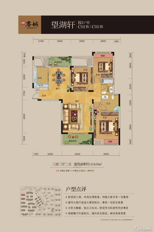 深业睿城B3户型图