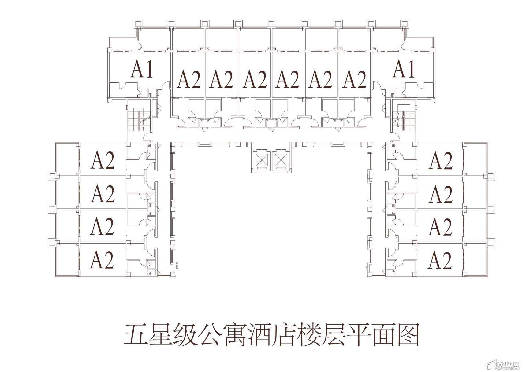 隆鑫三峡国家度假公园 户型图