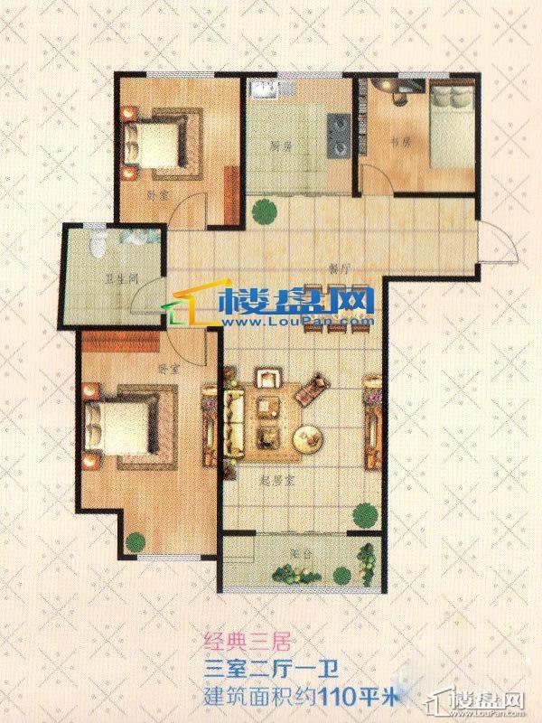 圣博·未来城户型图