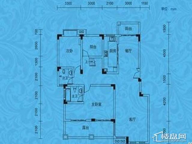 蓝月谷裕源国际山庄A-06栋07栋08栋(B-4四层户型)
