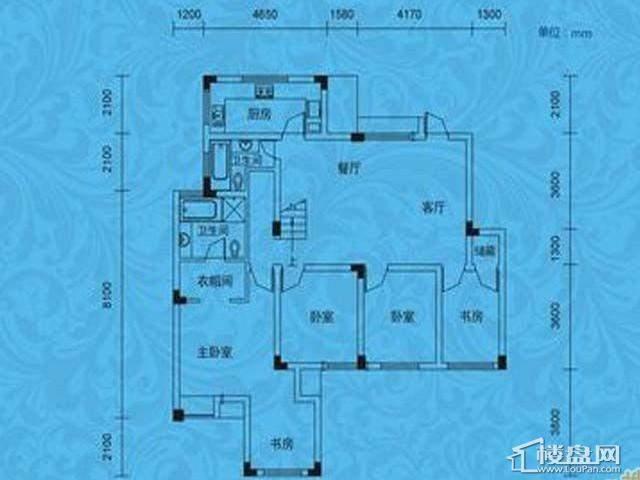 蓝月谷裕源国际山庄A-09栋10栋(复式C户型三层)