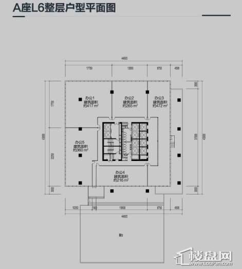 华润中心户型图