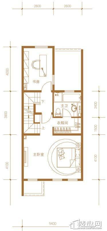 39-58号楼联排别墅Mc户型三层4室2厅4卫1厨