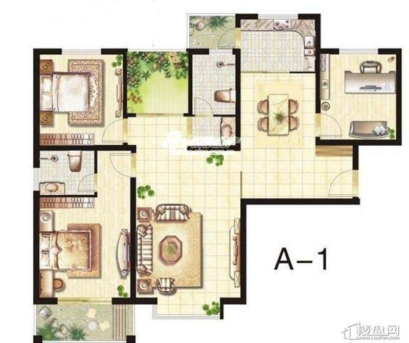 五期立体叠家升级版A1户型