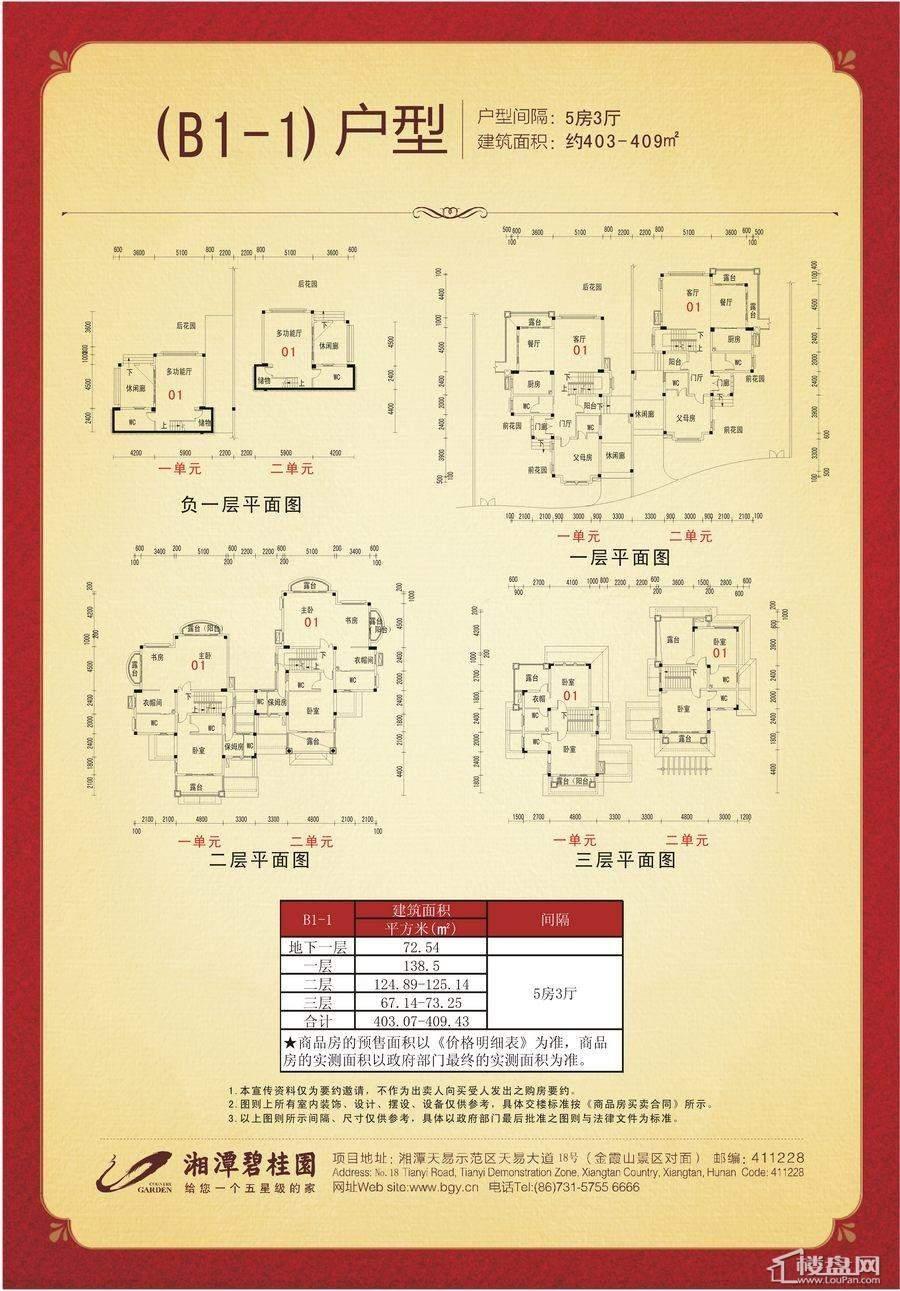 湘潭碧桂园户型图
