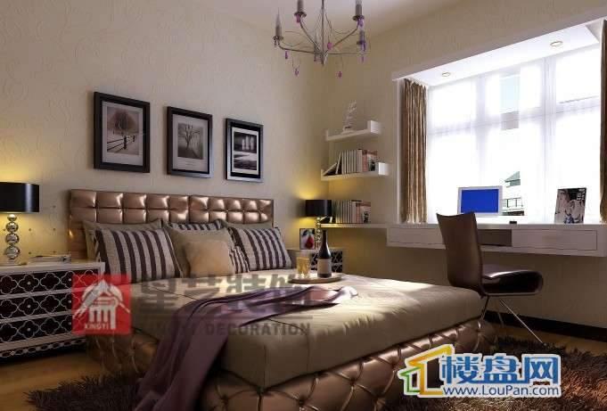 鑫鼎·国际名居 卧室