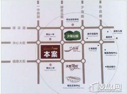 天煜紫悦城位置图