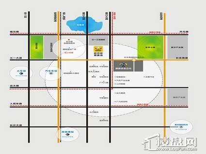 德普企业公元区位图