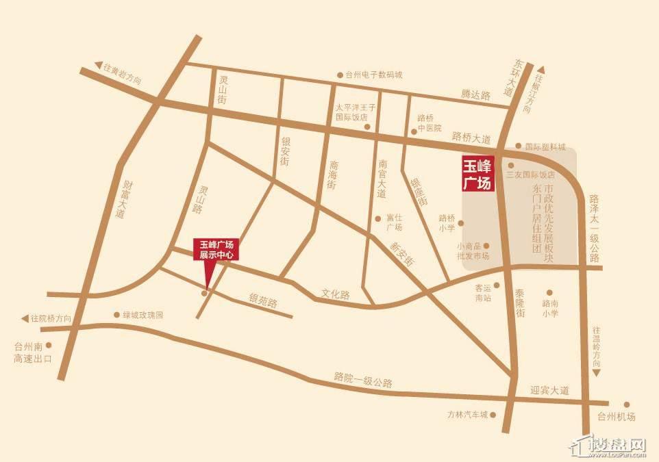 台州路桥地图_台州路桥区地图