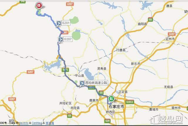 位置图交通图
