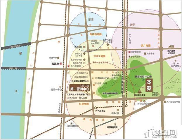 碧桂园南城首府区位交通图