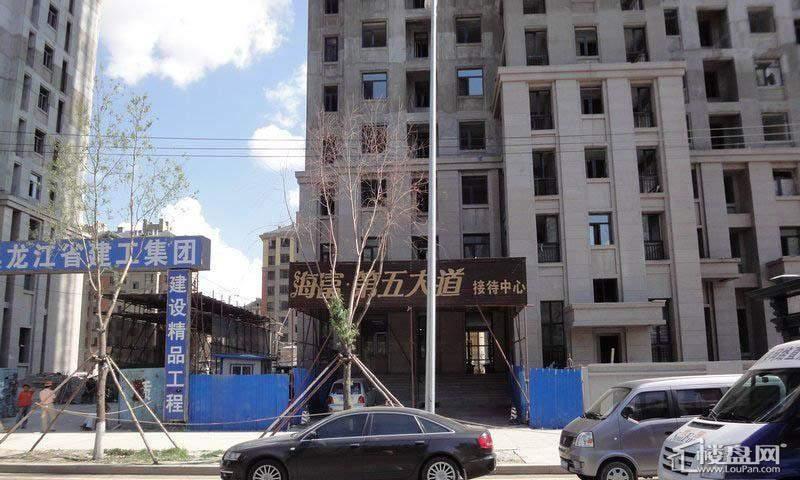 海富锦园项目接待中心实景(2012-7-20)