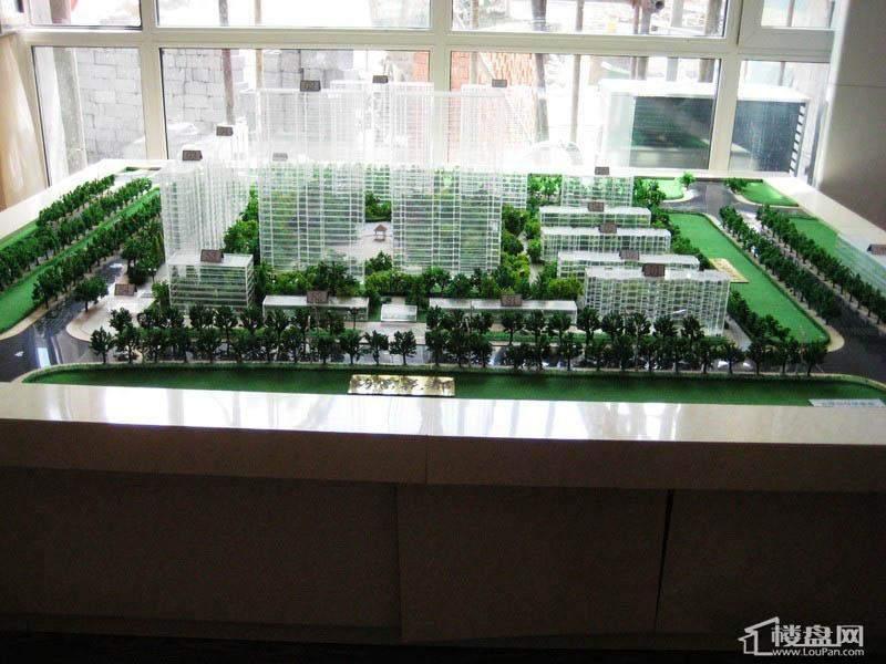 海富锦园 项目沙盘实景图(2012-05-25)