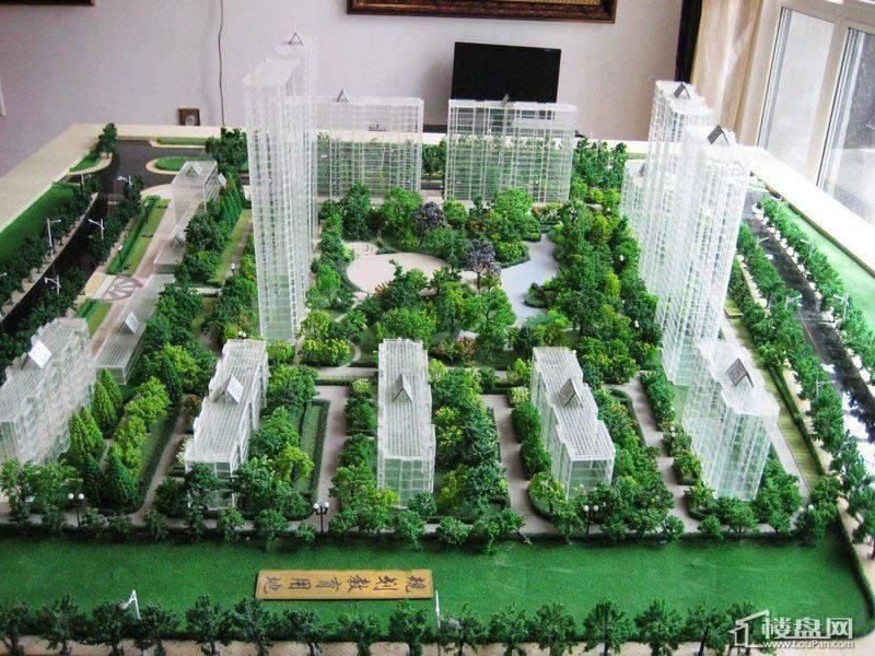 海富锦园项目沙盘实景图(2012-05-25)