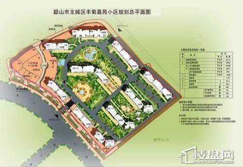 丰菊嘉苑规划图