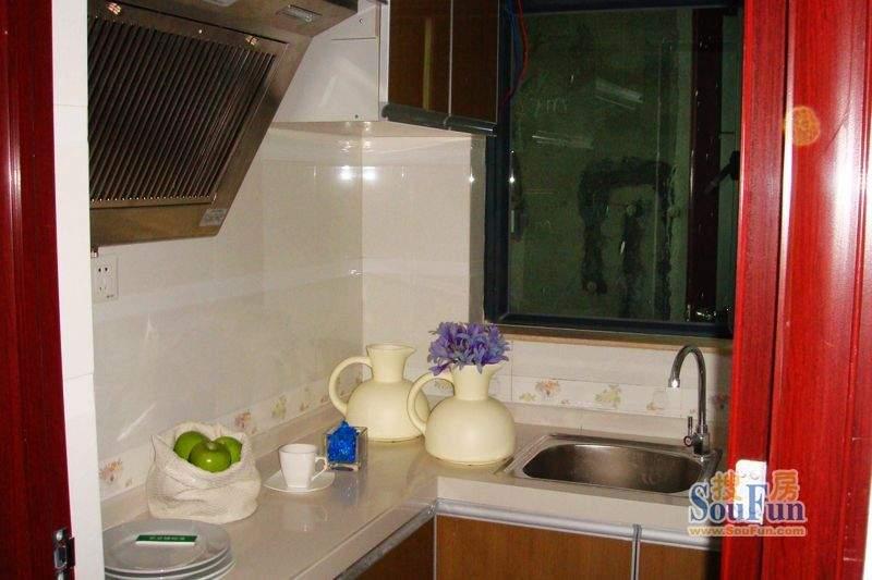 柠檬印象32.41㎡样板间厨房
