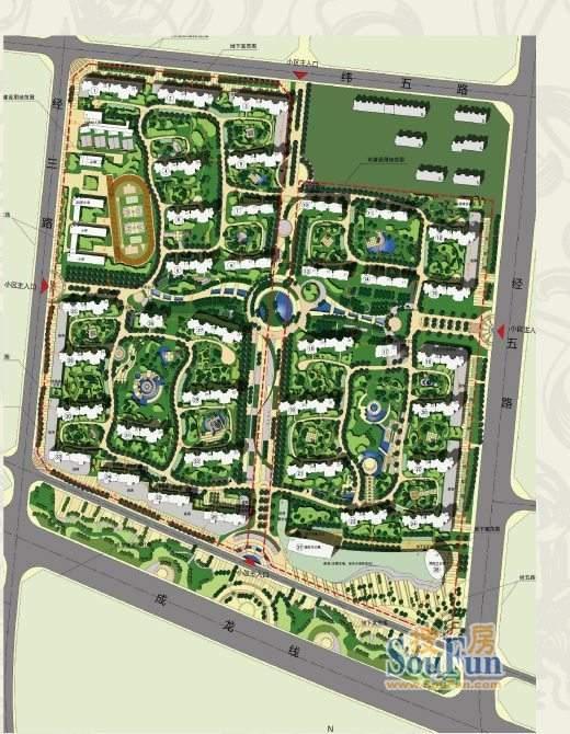 御海城规划图