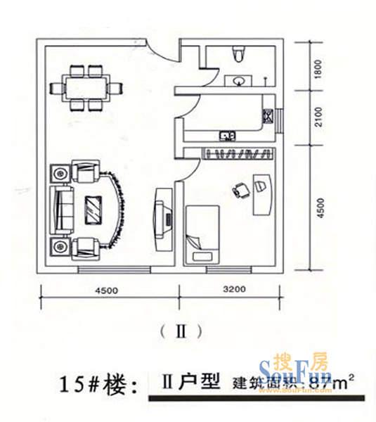 塞上骄子15号楼户型