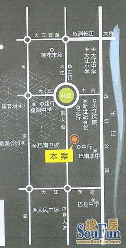 锦上花格外交通图