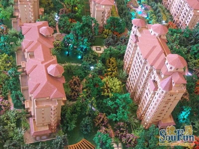芭东海城规划沙盘图