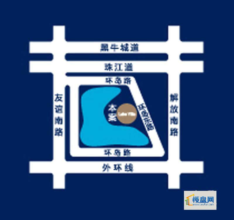 松江梅江南别墅4号院位置图