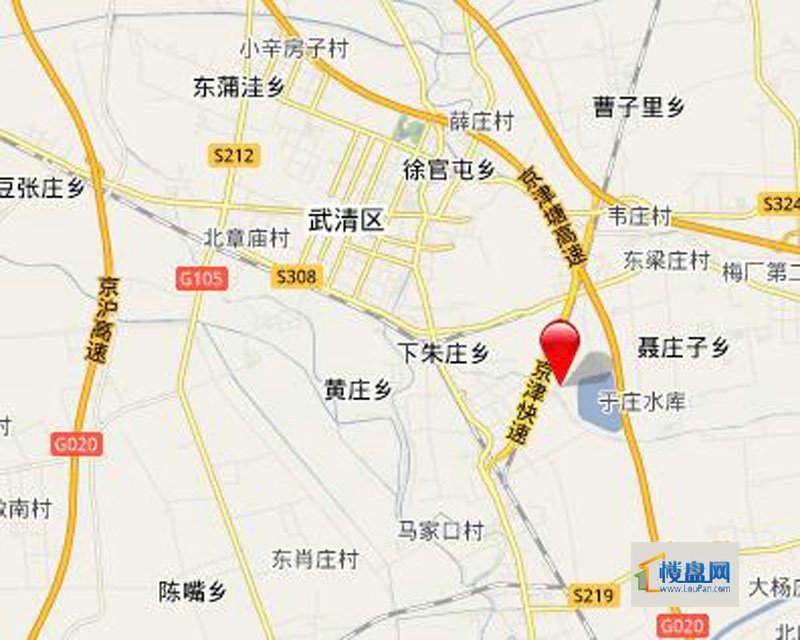 龙湾城位置图