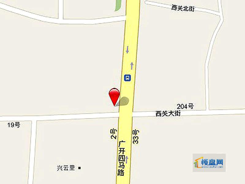长庚老年公寓二期万华交通图