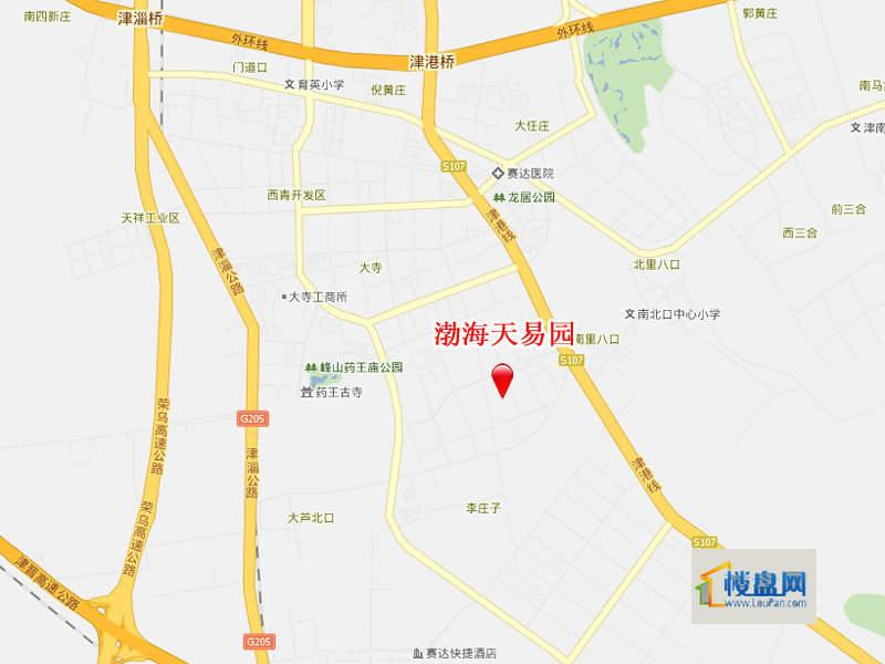 渤海天易园位置图