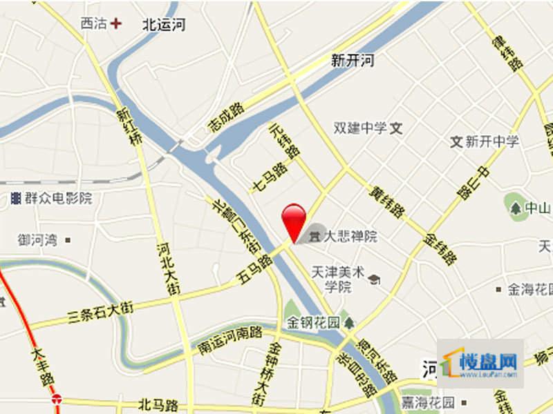 仁恒河滨花园位置图