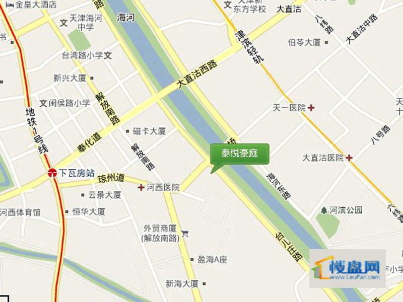 泰悦豪庭位置图
