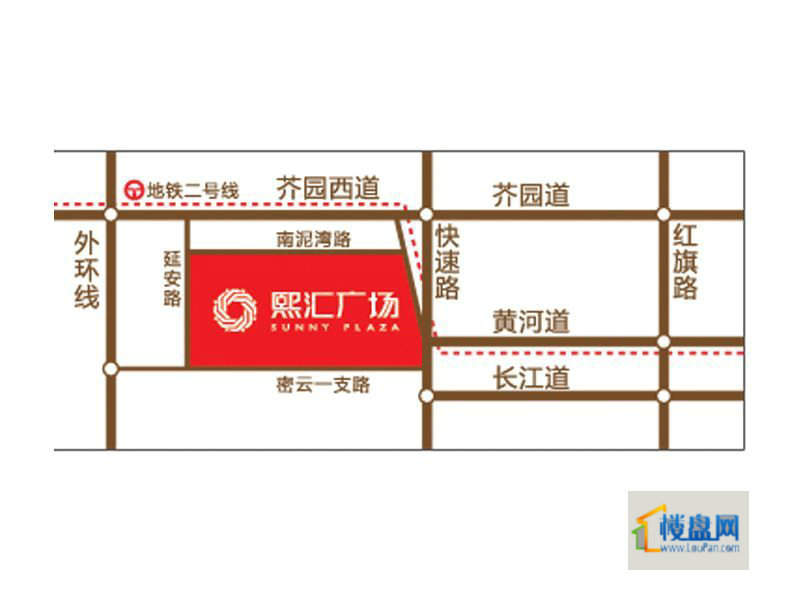 熙汇广场位置图