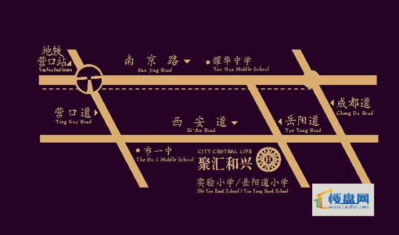 聚汇和兴交通图