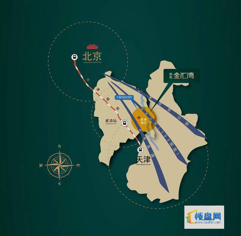 泽信金汇湾位置图