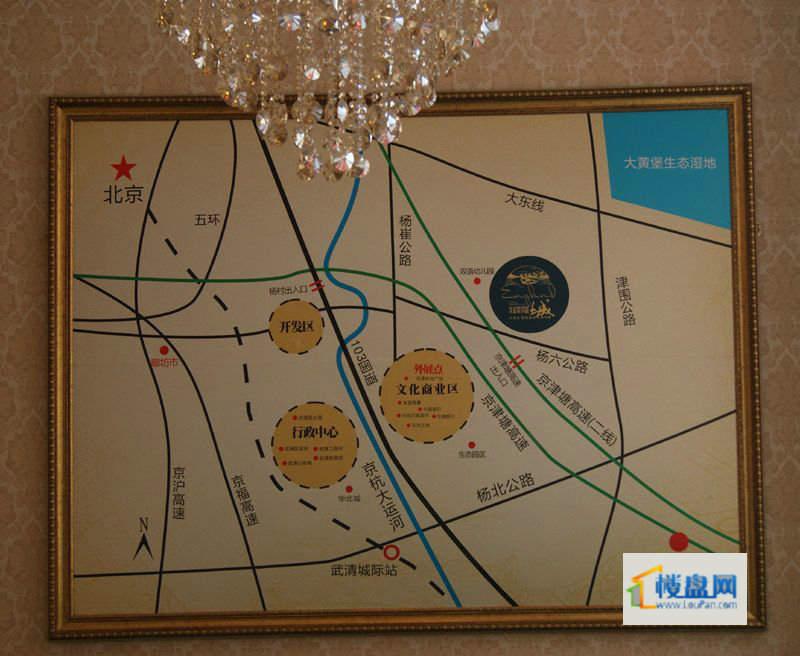 福晟钱隆城位置图